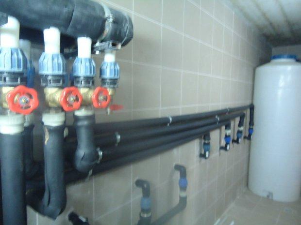 Установка системы отопления - город Одесса